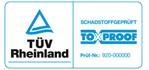 Tüv Rheinland keurmerk schadelijke stoffen